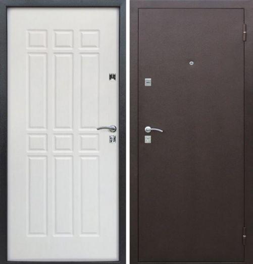 Входная дверь Сопрано Дуб молочный