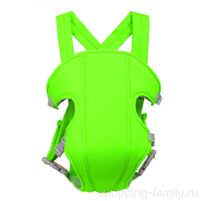 Рюкзак-слинг для переноски ребенка Baby Carriers, Цвет Салатовый