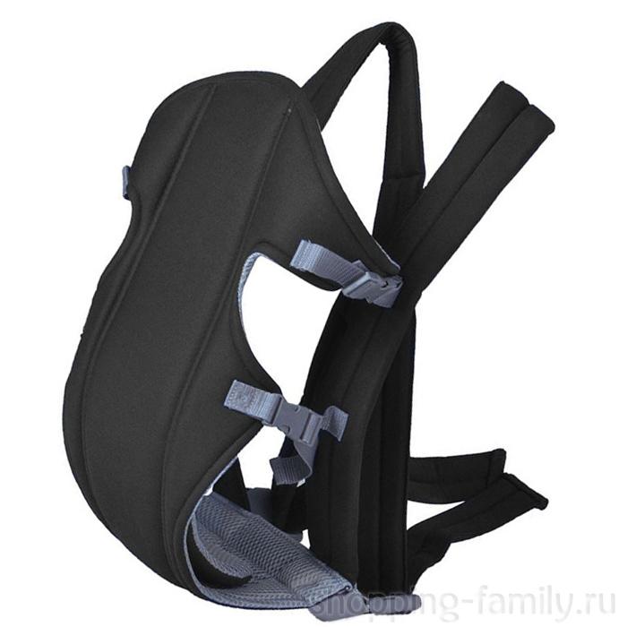 Рюкзак-слинг для переноски ребенка Baby Carriers, Цвет Черный