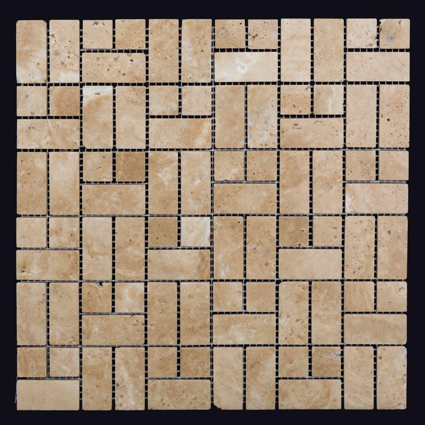 Мозаика из травертина ART. MZ021