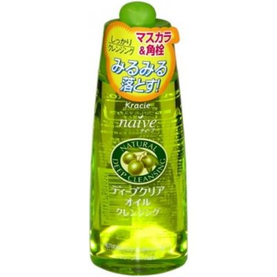 Kracie Naive Масло для глубокой очистки пор кожи, 170мл.