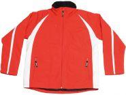 Куртка «Dakota» мужская, красный/белый S (арт. 4331125)