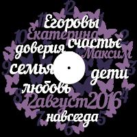 Часы настенные теплые слова с бабочками