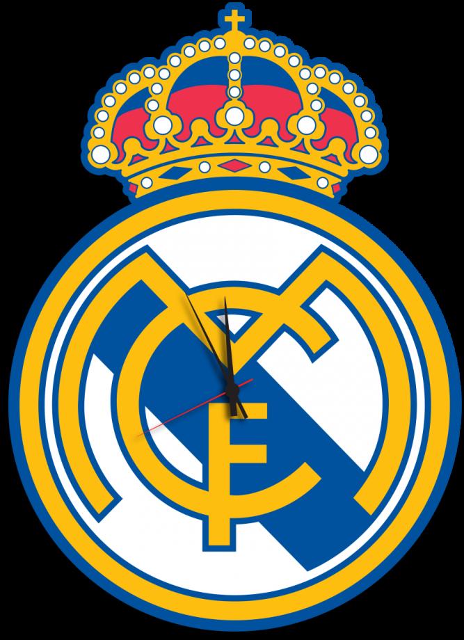Часы настенные футбольный клуб Реал Мадрид
