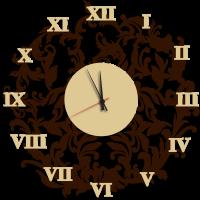 Часы настенные ажурные