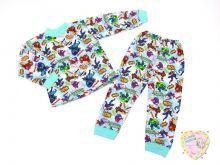 Пижама детская C-PJ023-SU (код 01776) МАМИН МАЛЫШ OPTMM.RU
