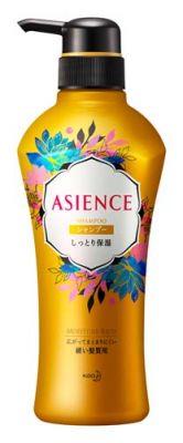 Kao Asience Moisture Rich Шампунь для волос увлажняющий с медом и протеином жемчуга с фруктово-цветочном ароматом