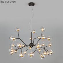 Подвесная люстра со стеклянными плафонами  545 Серия: Pallina