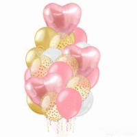 """Композиция из шаров """"Розовая нежность"""""""