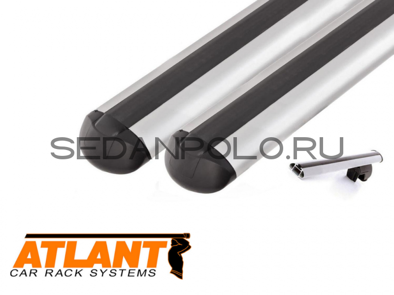 Алюминиевая дуга аэродинамический профиль L = 1100 комплект 2 шт.