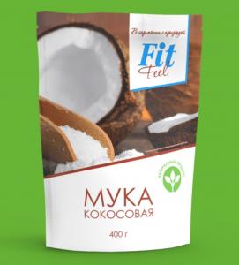 ФИТПАРАД Мука кокосовая 400 г