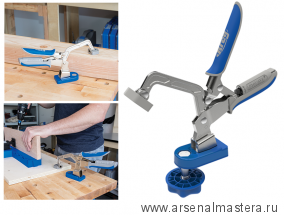 Верстачный зажим 76 мм KREG с базой Bench Clamp Base  Kreg KBC3-BAS