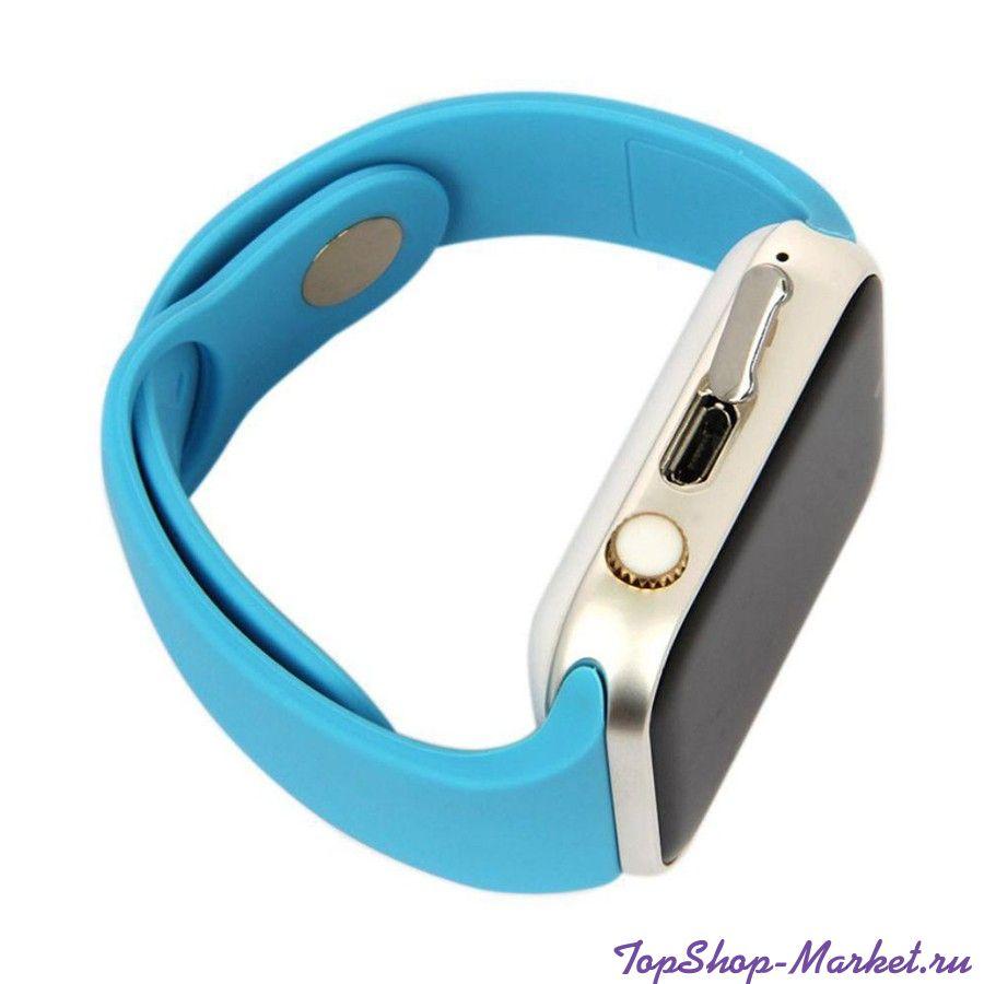 Умные часы Smart Watch W8, Цвет: Синий