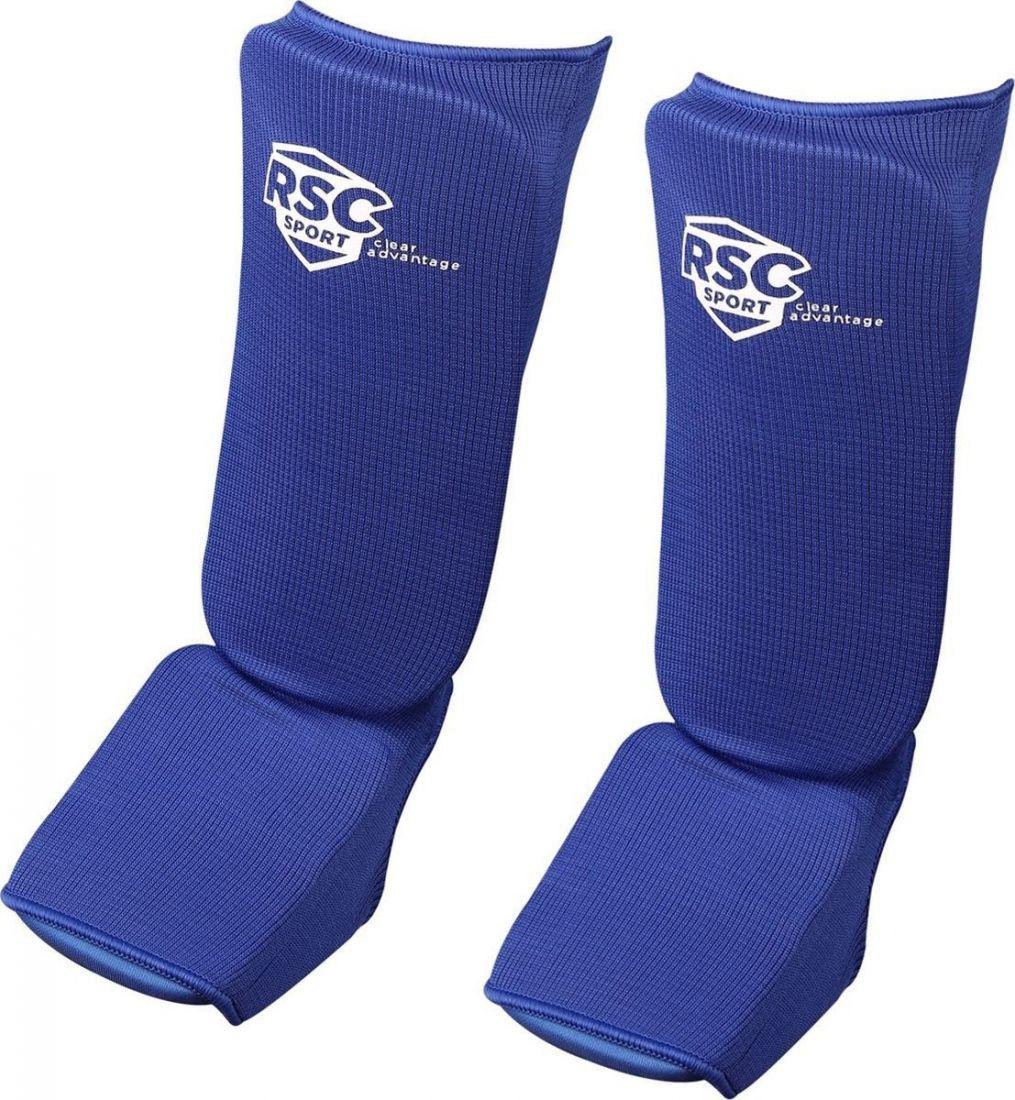 Комплект защиты голени и стопы RSC RSC001 синий