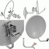 Спутниковая антенна 0,55м