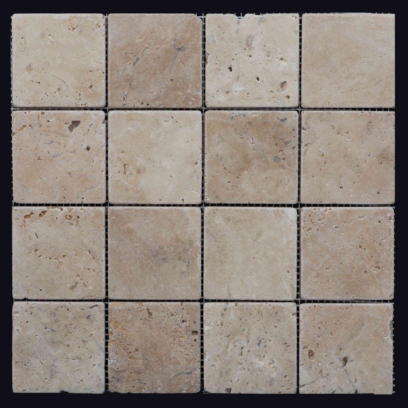 Мозаика из травертина ART. MZ040