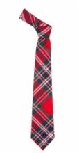 Истинно шотландский клетчатый галстук 100% шерсть , расцветка клан Макфарлейн, MACFARLANE CLAN MODERN TARTAN