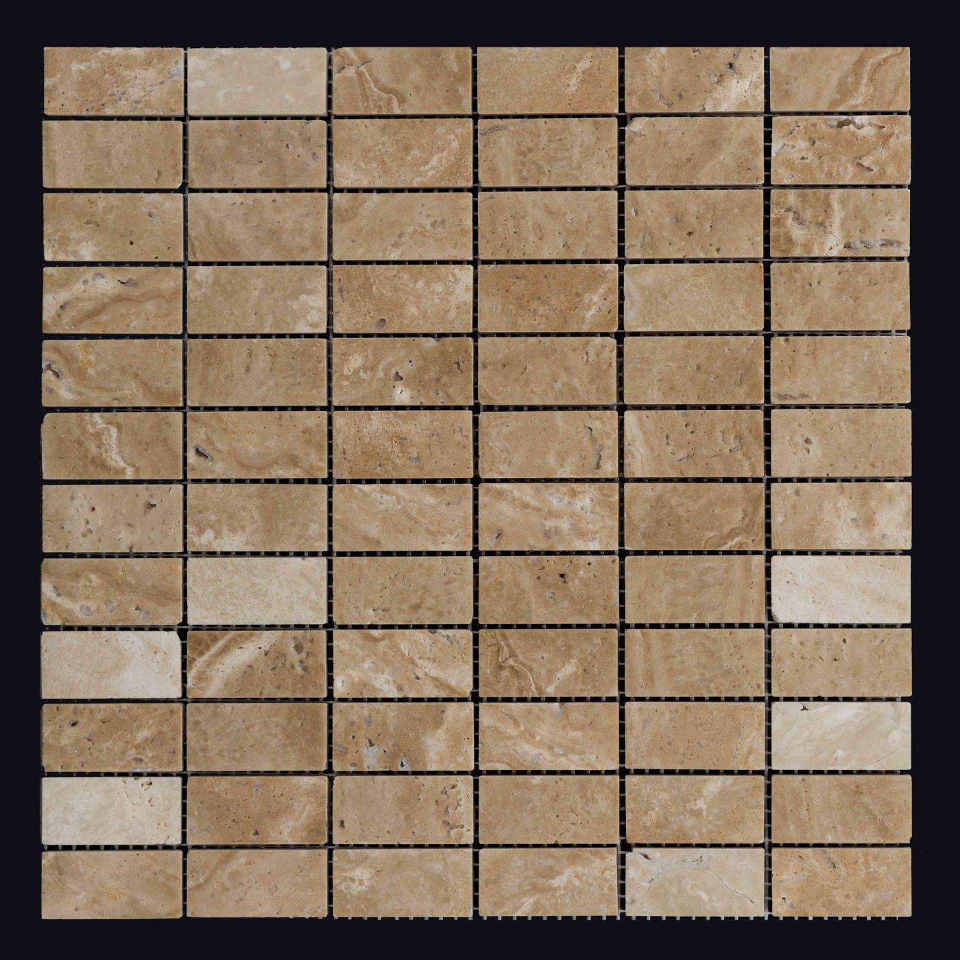 Мозаика из травертина ART. MZ035