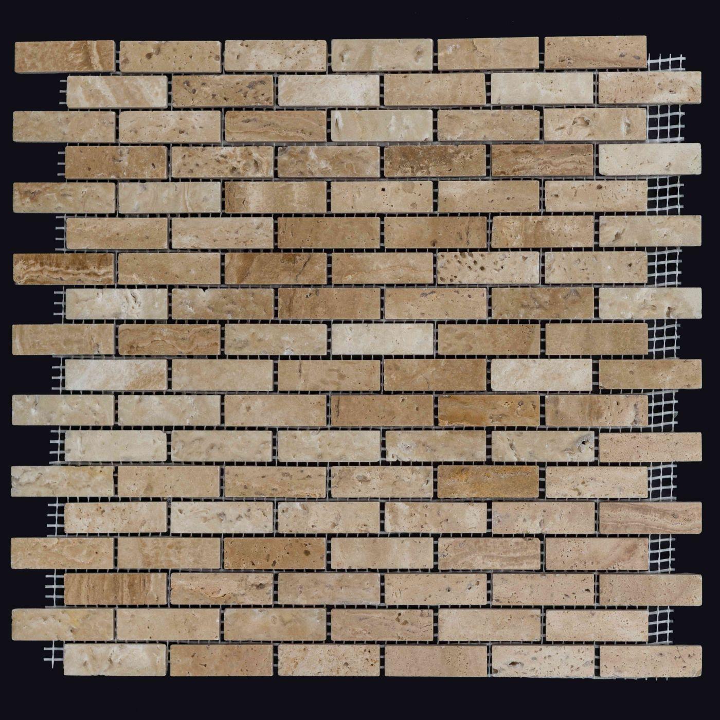 Мозаика из травертина ART. MZ046