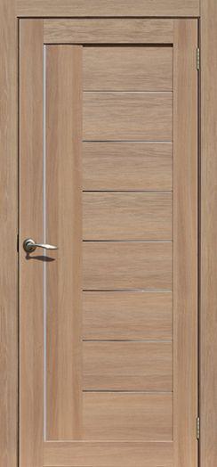Дверь межкомнатная Лондон Дуб сантьяго (Цена за комплект)