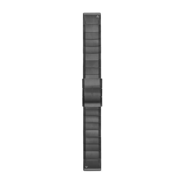Ремешок сменный QuickFit 22мм металлический темно-серый