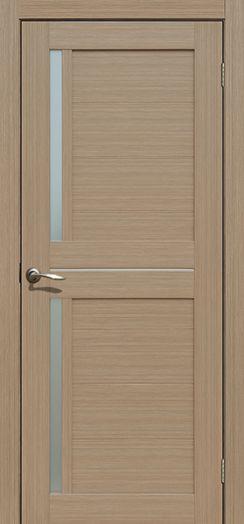 Дверь межкомнатная Каракас Тиковое дерево   (Цена за комплект)