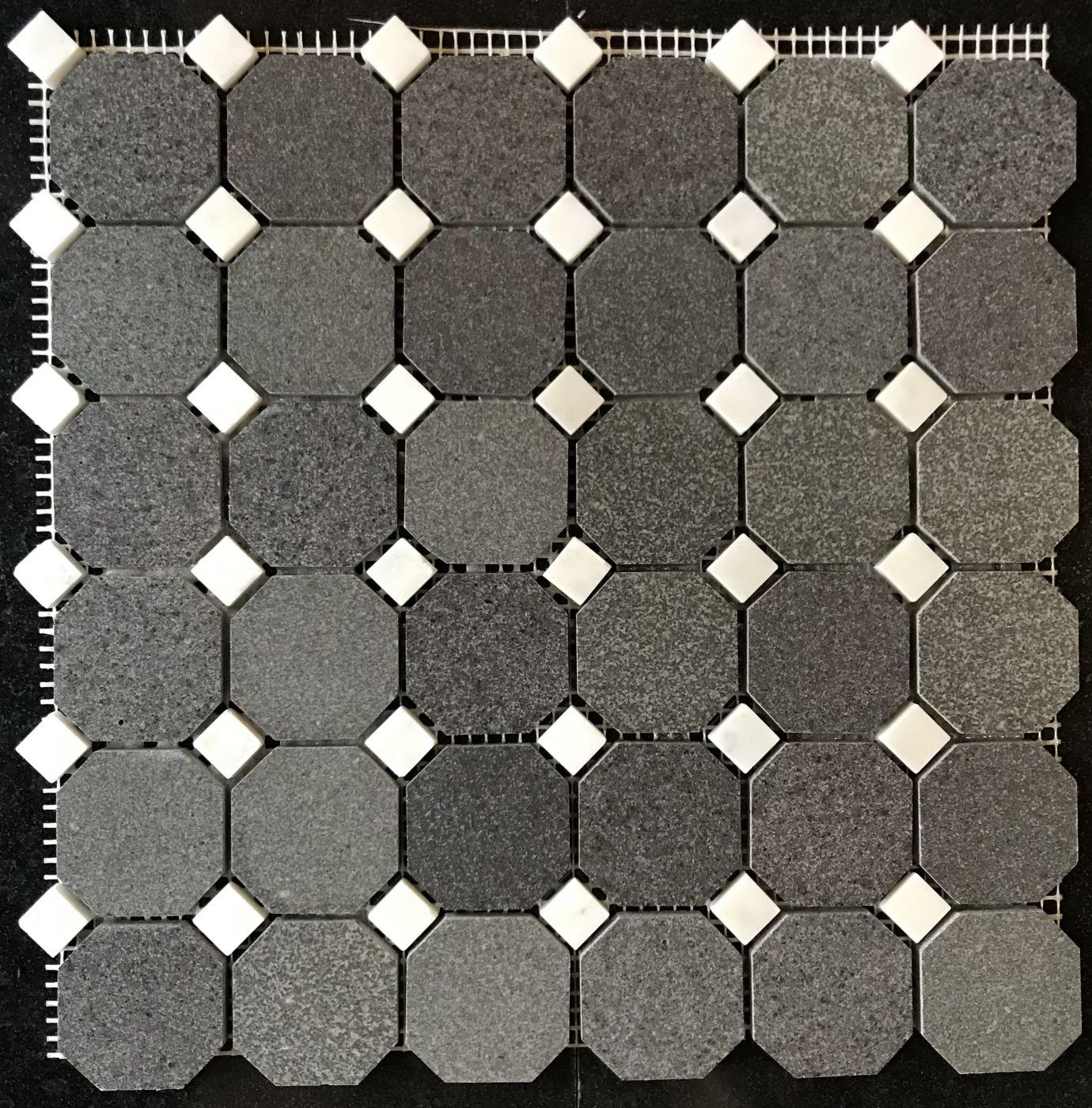 Мозаика из мрамора АRT. MZ122