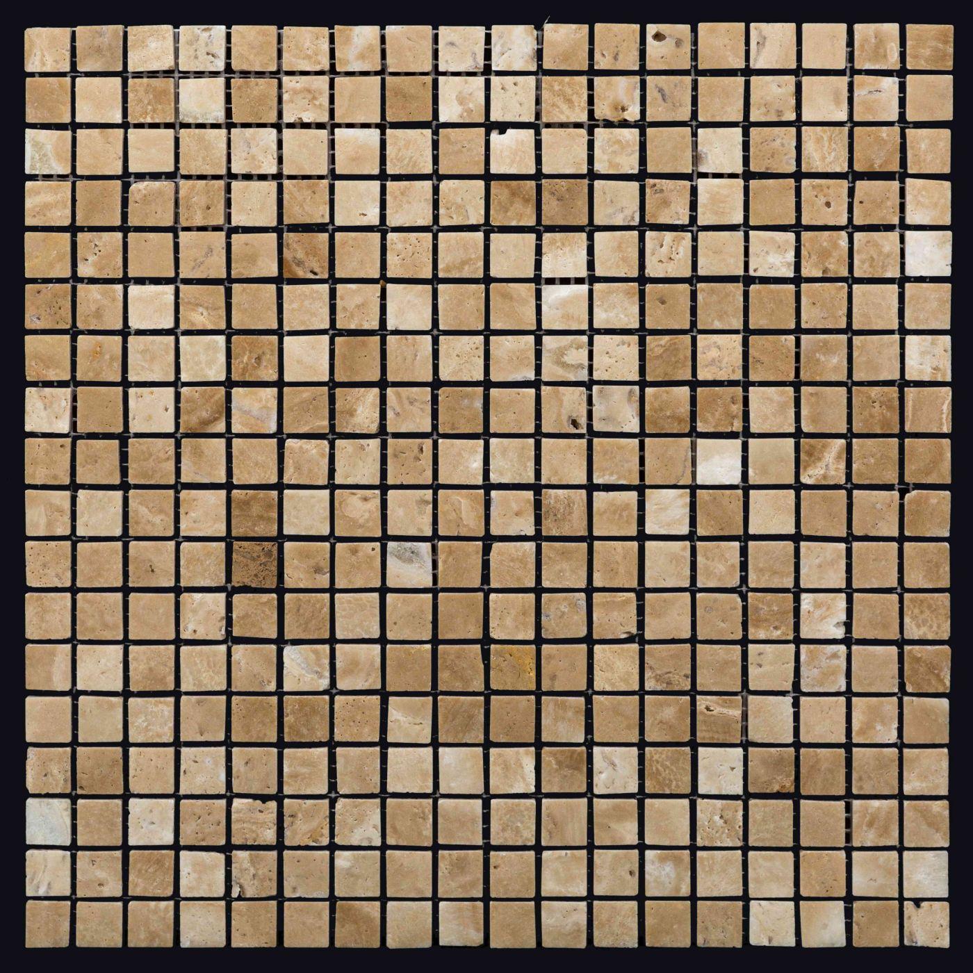Мозаика из травертина ART.MZ056