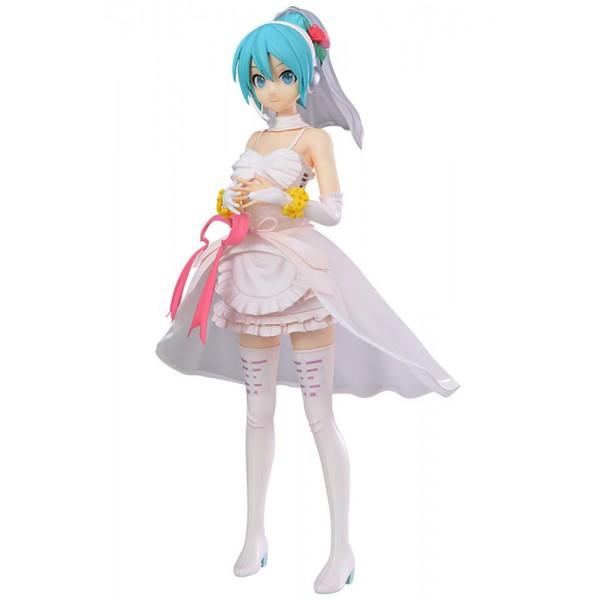 Аниме фигурка Хацунэ Мику Hatsune Miku White Dress