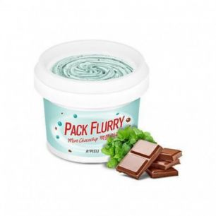 Pack Flurry (Mint chocochip) Маска-скраб для лица, 75мл