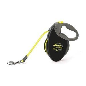 Рулетка FLEXI GIANT neon Рулетка-ремень для собак средних и крупных пород, неон L, 10м