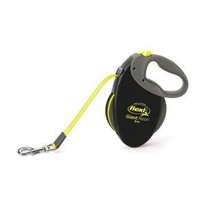 Рулетка FLEXI GIANT neon Рулетка-ремень для собак средних и крупных пород, неон L, 8м