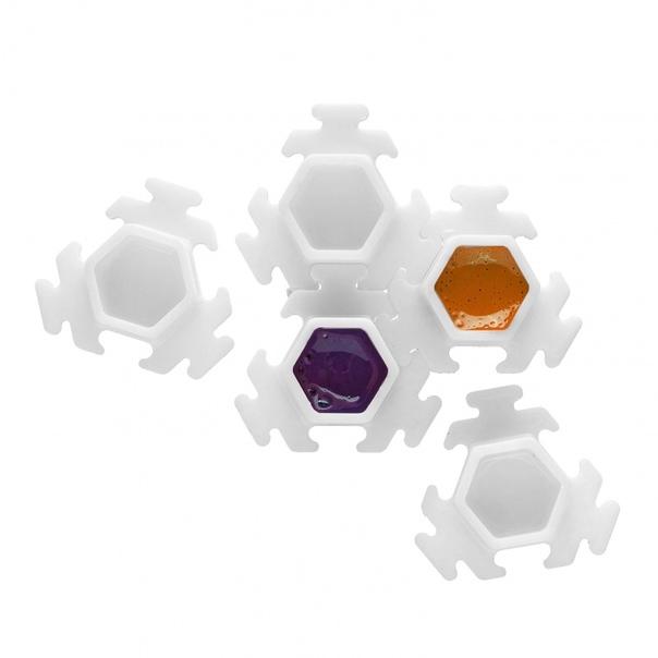 InkBox Puzzle White - 100шт