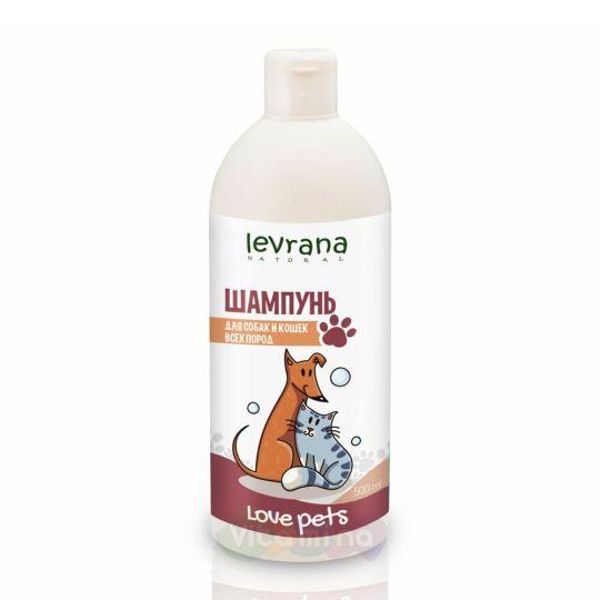 Levrana Шампунь для собак и кошек всех пород, 500 мл
