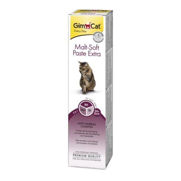 """GIMPET Паста для кошек """"Мальт-Софт-Экстра"""" для вывода шерсти 200 г"""