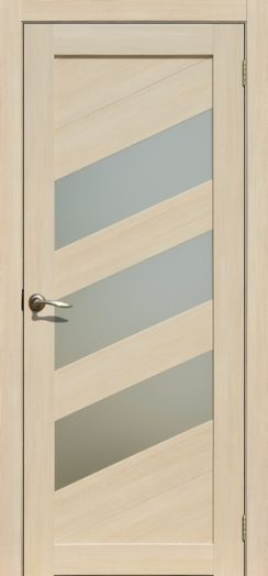 Дверь межкомнатная Осака ясень латте(Цена за комплект)