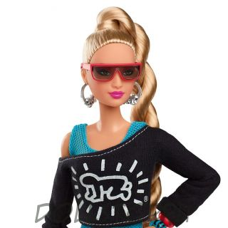 Коллекционная Барби Кит Харинг - Keith Haring X Barbie® Doll 2019
