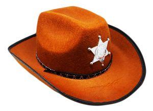 Шляпа Шерифа (коричневая)