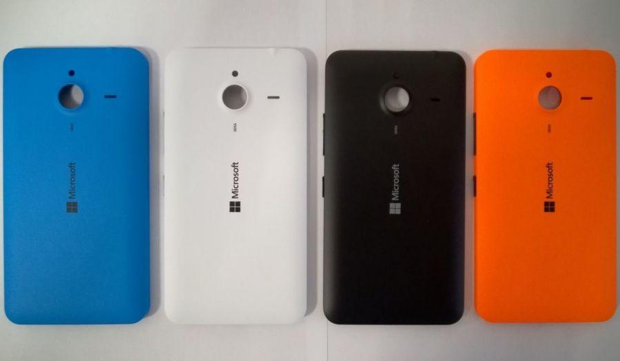 Задняя крышка Microsoft Lumia 640 XL (blue) Оригинал