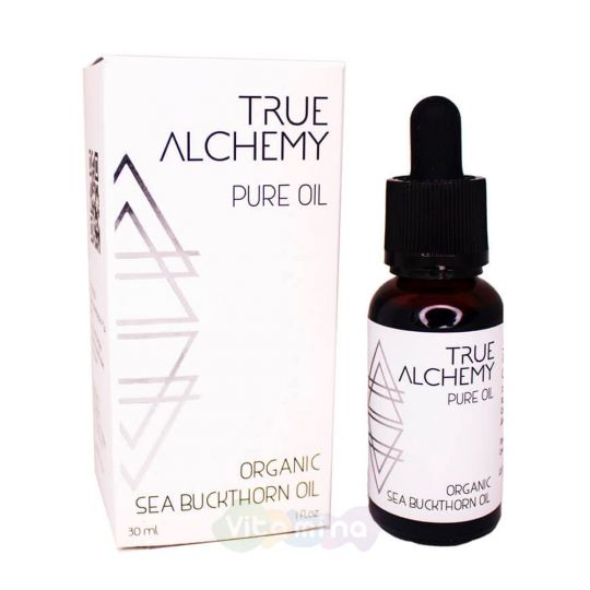 True Alchemy Органическое масло облепихи Organic Sea Buckthorn Oil, 30 мл