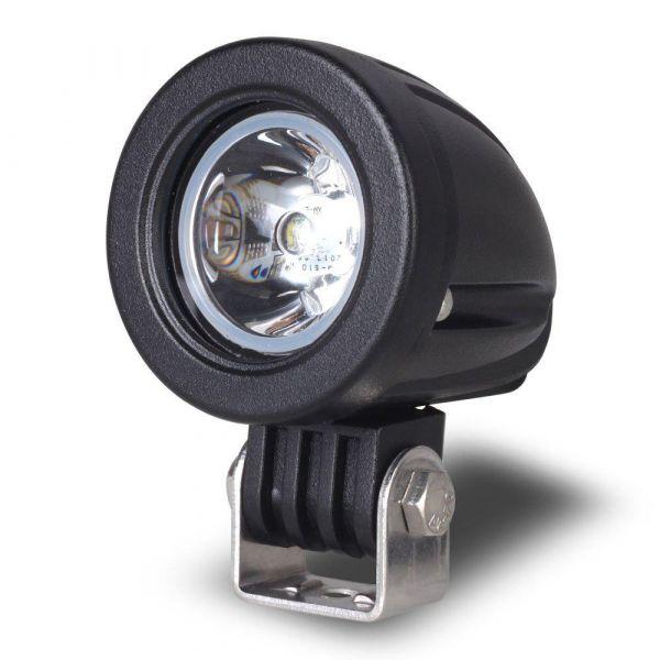Круглая светодиодная фара дальнего света 10W