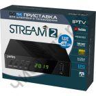 """Цифровой ресивер  DVB-T2/C Perfeo """"STREAM 2"""" для цифр.TV, Wi-Fi, IPTV, HDMI, 2 USB порта, DolbyDigital, пульт ДУ( диагност.брака > 2 нед. при отсутв. оплата диагностики 100р.  пласт. с блоком питан."""