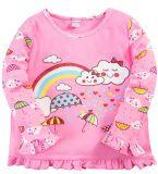 Кофта для девочки Bonito розовая радужный зонтик