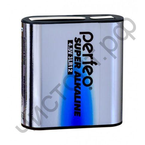 Perfeo 3LR12/1SH Super Alkaline (квадр.)