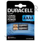 Duracell AAAA  2BL MN2500