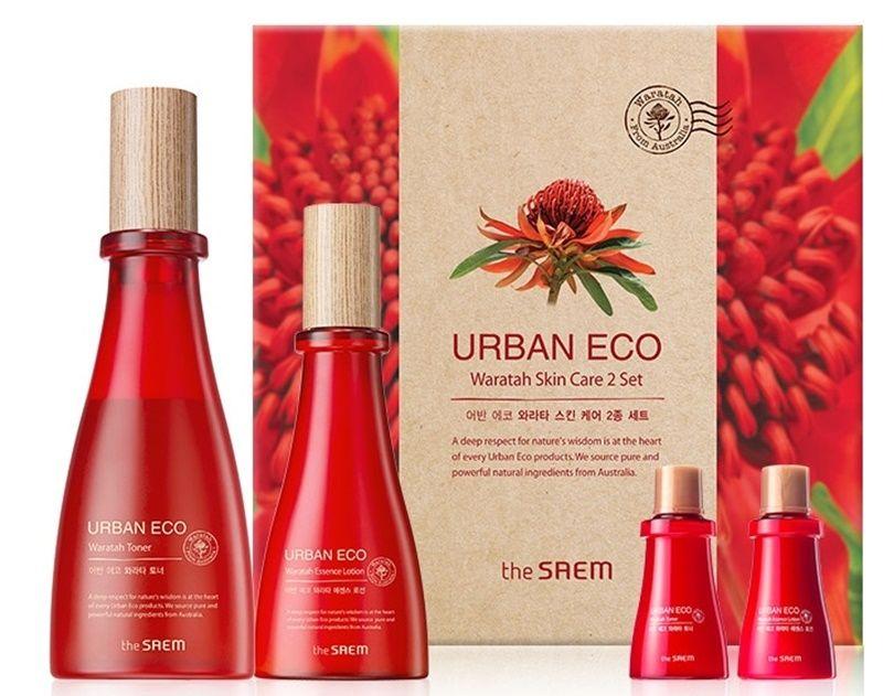 THE SAEM Waratah Набор уходовый с экстрактом телопеи Urban Eco Waratah Skin Care 2 Set 180мл/140мл/30мл