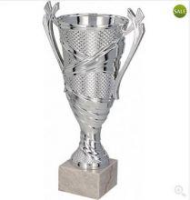 Кубок наградной серебро 19 см