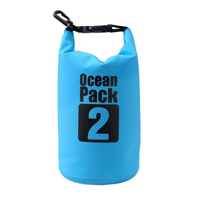 Водонепроницаемая сумка-мешок Ocean Pack, 2 L, цвет синий