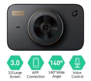 Видеорегистратора Xiaomi Mi Dash Cam 1S