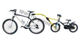 Тандемная штанга д/буксировки детского велосипеда Peruzzo Trail Angel желтый